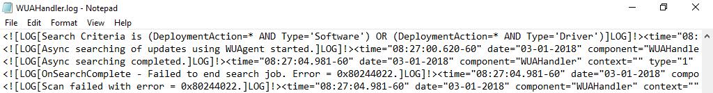 SCCM Client Update Problem_01